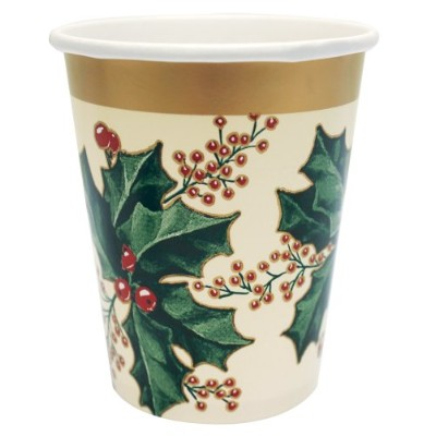 Creative Converting 775688Count Winter Hollyペーパーカップ、9-ounce