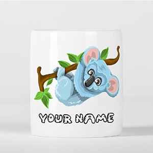 Customized Koala in Tree Children Kids Personalised 貯金箱