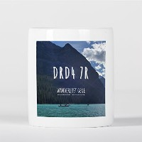 DRD4 7R Wanderlust Gene Inspirational Motivational Travel Journey 貯金箱
