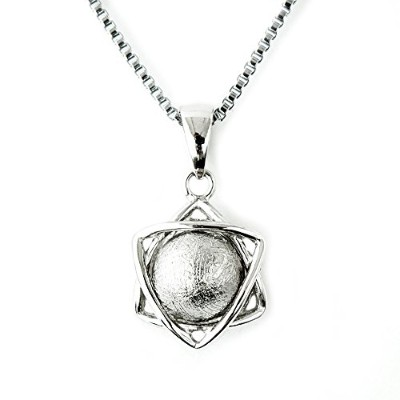 One&Only Jewellery ギベオン隕石 メテオライト 六芒星 デザイン ペンダント ネックレス