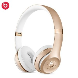 Beats by Dr.Dre ワイヤレスヘッドホン Beats Solo3 Bluetooth対応 密閉型 オンイヤー リモコン有り ゴールド MNER2PA/A BT SOLO3 WL GLD ...