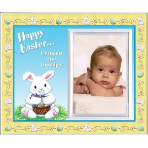 Happy Easter Grandma & Grandpa - Picture Frame Gift by Expressly Yours! Photo Expressions