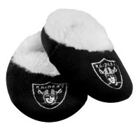 Oakland RaidersロゴBaby Bootie Slipper Small