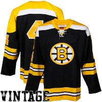 NHL Mitchell & Ness Bobby Orr Boston Bruins Authentic Throwback jersey-gold ( 56)