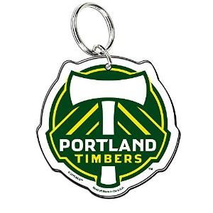 Soccer 95866020 Portland Timbersプレミアムアクリルキーリング