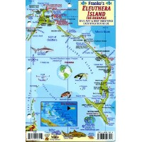 Eleuthera Island the Bahamas Mini-map & Reef Creatures Identification Guide - Fish ID by Franko's...