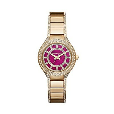 マイケルコース Michael Kors レディース 腕時計 時計 Michael Kors Women's Goldtone Mini Kerry Watch