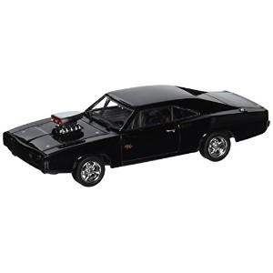 "GREENLIGHT 1:43SCALE ""FAST & FURIOUS: FAST FIVE"" ""DOM'S 1970 DODGE CHARGER R / T"" BLACK グリーンライト 1..."