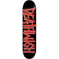 Deathwish Deathspray Deck 8.0 Black Red Skateboard Decks by Deathwish
