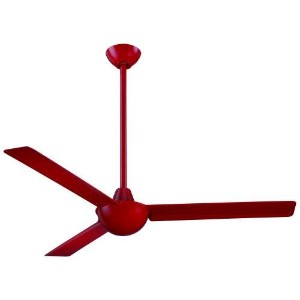 Minka Aire F833-RD, Kewl, 52 Ceiling Fan, Red by Minka-Aire