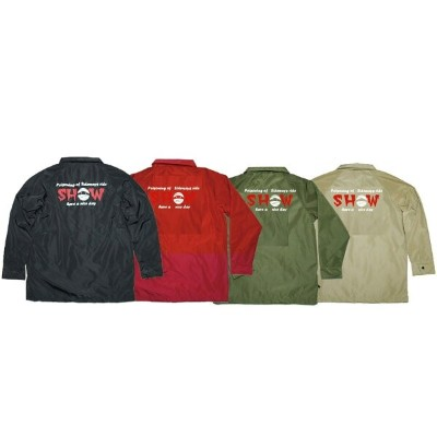 SHOWTIME COLLECTIVE [ 撥水防水耐水スノーコーチジャケット ボア BOAJK-002 SHOW @ 15120 ] ショータイムコレクティブ SNOW Coach Jacket