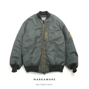MARKAWARE [ マーカウェア] / MA-1 BIG - ARKnets exclusive - (エムエーワンビッグ マーカウェア MA-1 別注)A17F-24BL03C【COR】...