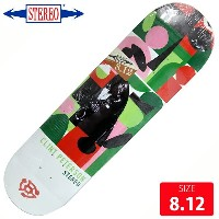STEREO ステレオ デッキ Peterson HORNS by Charlie Coatney Hank DECK 8.12 SRD-032 スケートボード skateboard