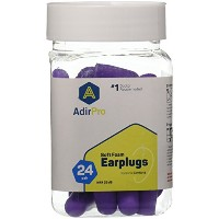 AdirPro Doctor Recommended, Comfortable Fit, Premium Ultra Soft Foam Ear Plugs For Hearing...
