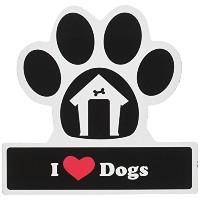 LittleGifts Dog Lover Paw Car Magnet by Little Gifts