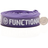 Functional Fitness Pull Up Assist Band #4 Purple 40-80 lb (18-36 kg)