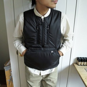 ENDS and MEANS Tactical Puff Vest エンズアンドミーンズ タクティカル パフ ベスト