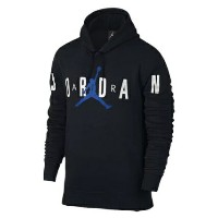JORDAN JUMPMAN AIR BRUSHED GRAPHIC HOODIE メンズ Black/White/Blue パーカー ジョーダン