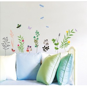 wall sticker(ウォールステッカー) 北欧 花園