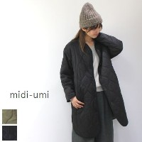 【5%10%クーポン】10/17 10:00 - 10/19 13:59 midiumi (ミディウミ)reversible quilted long coat 2color3-770550-j...