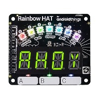 Rainbow HAT - レインボー ハット for Android Things