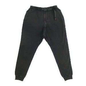 Gramicci グラミチ GUP014 SWEAT NARROW RIB PANTS Black