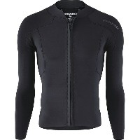 パタゴニア メンズ サーフィン スポーツ R1 Lite Yulex Front-Zip Long-Sleeve Top - Men's Black