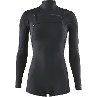 パタゴニア レディース サーフィン スポーツ R1 Lite Yulex Front-Zip Long-Sleeve Spring Suit - Women's Black