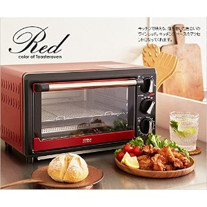 siroca non fly oven (convection oven) crossline SCO-313V-RD Red [並行輸入品]