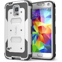 i-Blason Samsung Galaxy S5 Case - Armorbox Dual Layer Hybrid Full-body Protective Case with Front...