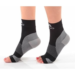 Mojo Compression Plantar Fasciitis Foot Sleeves -XLFirm Graduated Support by Mojo Compression socks