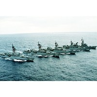 And theガイド付きMissile Destroyer Uss Towers ( DDG 9。