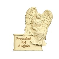 Protected By Angelsバイザークリップ。
