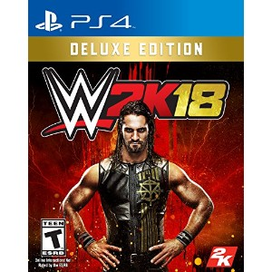 WWE 2K18 Deluxe Edition PlayStation 4 - USA.