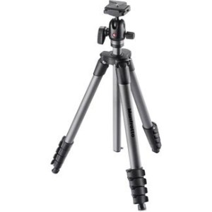 Manfrotto マンフロット カメラ 三脚 Compact Advanced Tripod with Quick Release Ball Head