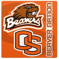 NCAA Oregon State Beaversマグネットシート