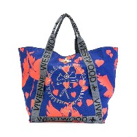 Vivienne Westwood Anglomania - バードプリント トートバッグ - women - コットン - ワンサイズ