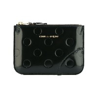 Comme Des Garçons Wallet - Polka Dots Embossed コインケース - unisex - レザー - ワンサイズ