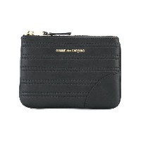 Comme Des Garçons Wallet - Embossed Stitch コインケース - unisex - レザー - ワンサイズ