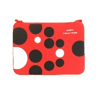 Comme Des Garçons Wallet - Polka Dots クラッチバッグ - unisex - ネオプレン/ナイロン - ワンサイズ
