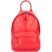 Givenchy - logo plaque nano backpack - women - レザー - ワンサイズ