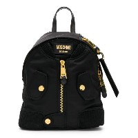 Moschino - bomber jacket backpack - women - ポリエステル - ワンサイズ