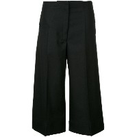 Lemaire - wide leg cropped trousers - women - バージンウール - 38