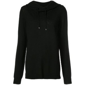 Barbara Bui - hooded jumper - women - ウール - M