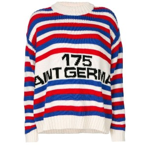Sonia Rykiel - Saint Germain striped sweater - women - バージンウール - S