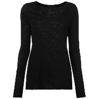 Atm Anthony Thomas Melillo - long sleeved top - women - コットン - M