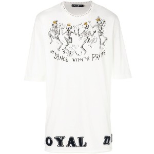 Dolce & Gabbana - Dance With The Prince Tシャツ - men - コットン - 44