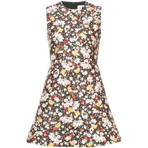 Red Valentino - floral print dress - women - ポリエステル/アセテート - 40