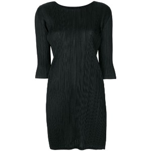 Pleats Please By Issey Miyake - pleated dress - women - ポリエステル - 3