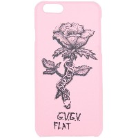 G.V.G.V.Flat - rose print iPhone 6S case - women - プラスチック - ワンサイズ
